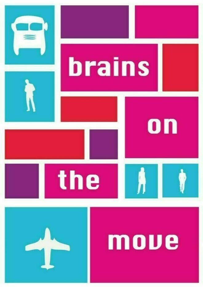 Logo Brains on the Move